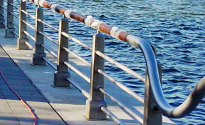 Microguard corrosion protection on guard rail