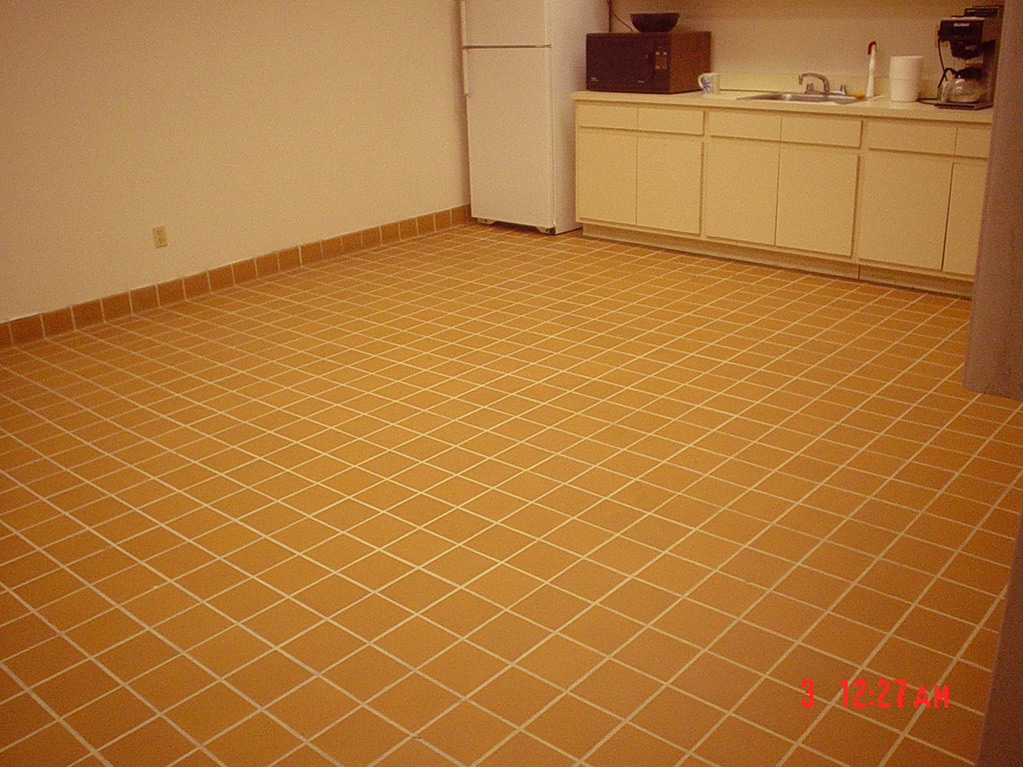 Break Room Flooring : Microguard protective clear coatings breakroom floor
